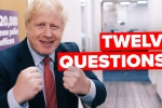 12 Questions to Boris Johnson